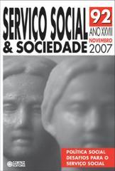 Revista Serviço Social & Sociedade  92