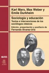 Sociología y educación - Textos e intervenciones de los sociólogos clássicos