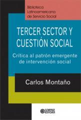Tercer sector y cuestión social - crítica al patrón emergente de intervención social