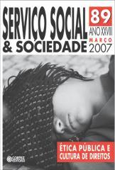 Revista Serviço Social & Sociedade  89