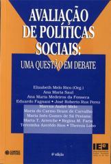 Avaliação de políticas sociais - uma questão em debate